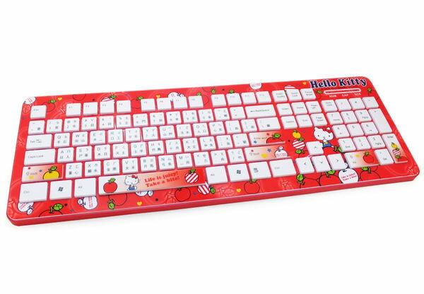 [NOVA成功3C] Hello Kitty SKK-161 精巧靈動巧克力鍵盤KT-蘋果 喔!看呢來