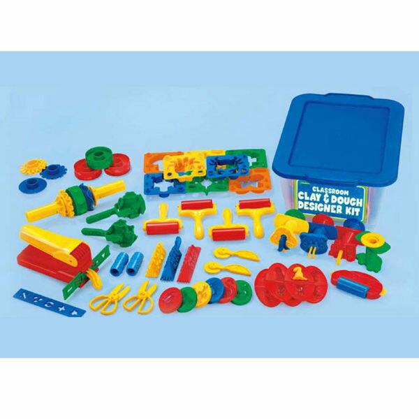 【華森葳兒童教玩具】美育教具系列-黏土工具箱 L1-AP/2016/OB