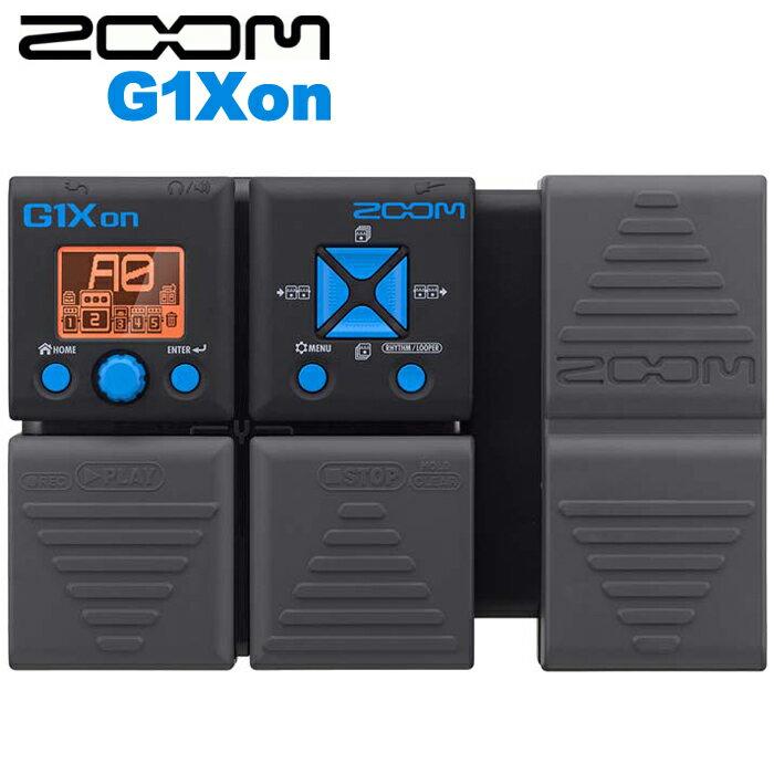 【非凡樂器】ZOOM 電吉他綜合效果器 G1Xon 內建踏板/節奏機/原廠公司貨/贈整流器/贈導線.變壓器