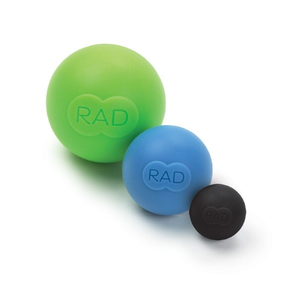 <br/><br/>  騎跑泳者-RAD ROUND按摩球-簡單,隨身,四處可用.細部,精確,深層的工具:大、中、小各乙顆<br/><br/>
