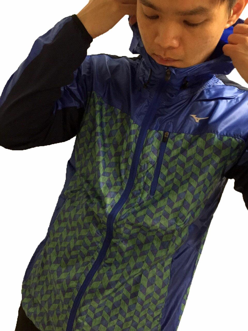 【登瑞體育】MIZUNO 路跑風衣 - J2TC558325