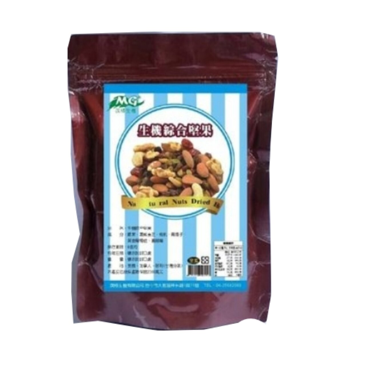 生機綜合堅果+果乾-低溫烘焙/180g