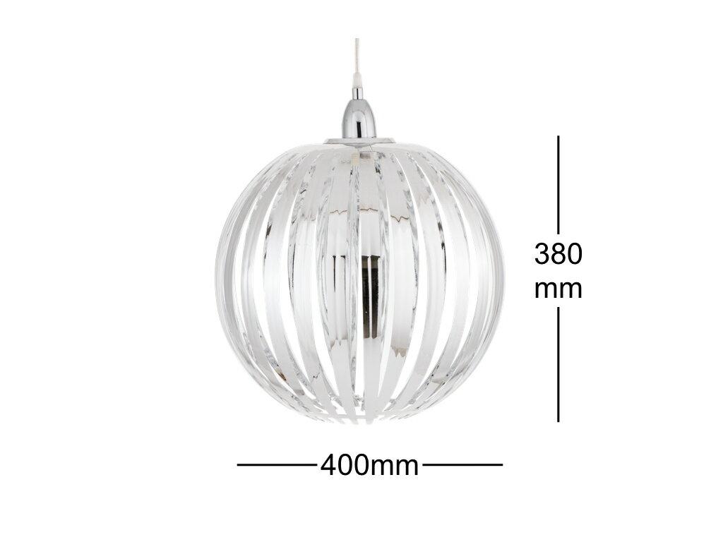 鍍鉻條圓形吊燈-BNL00054 7