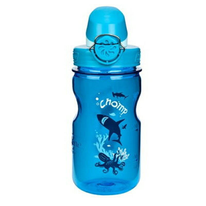 【速捷戶外】NALGENE 1263-0002 OTF 兒童運動水壺(鯊魚)375cc ,兒童水瓶BPA-free,運動水壺,登山水壺