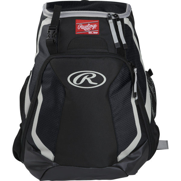 Rawlings R500 Players Team Black Backpack 0