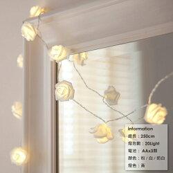 仿真玫瑰花LED燈
