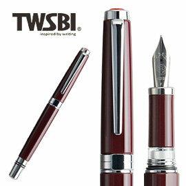 臺灣 TWSBI 三文堂 Classic 酒紅桿活塞上墨鋼筆      支