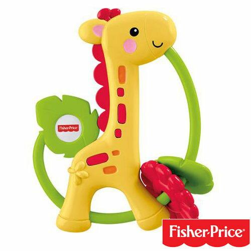 費雪牌Fisher Price 長頸鹿手搖鈴(3m+) 23452 好娃娃