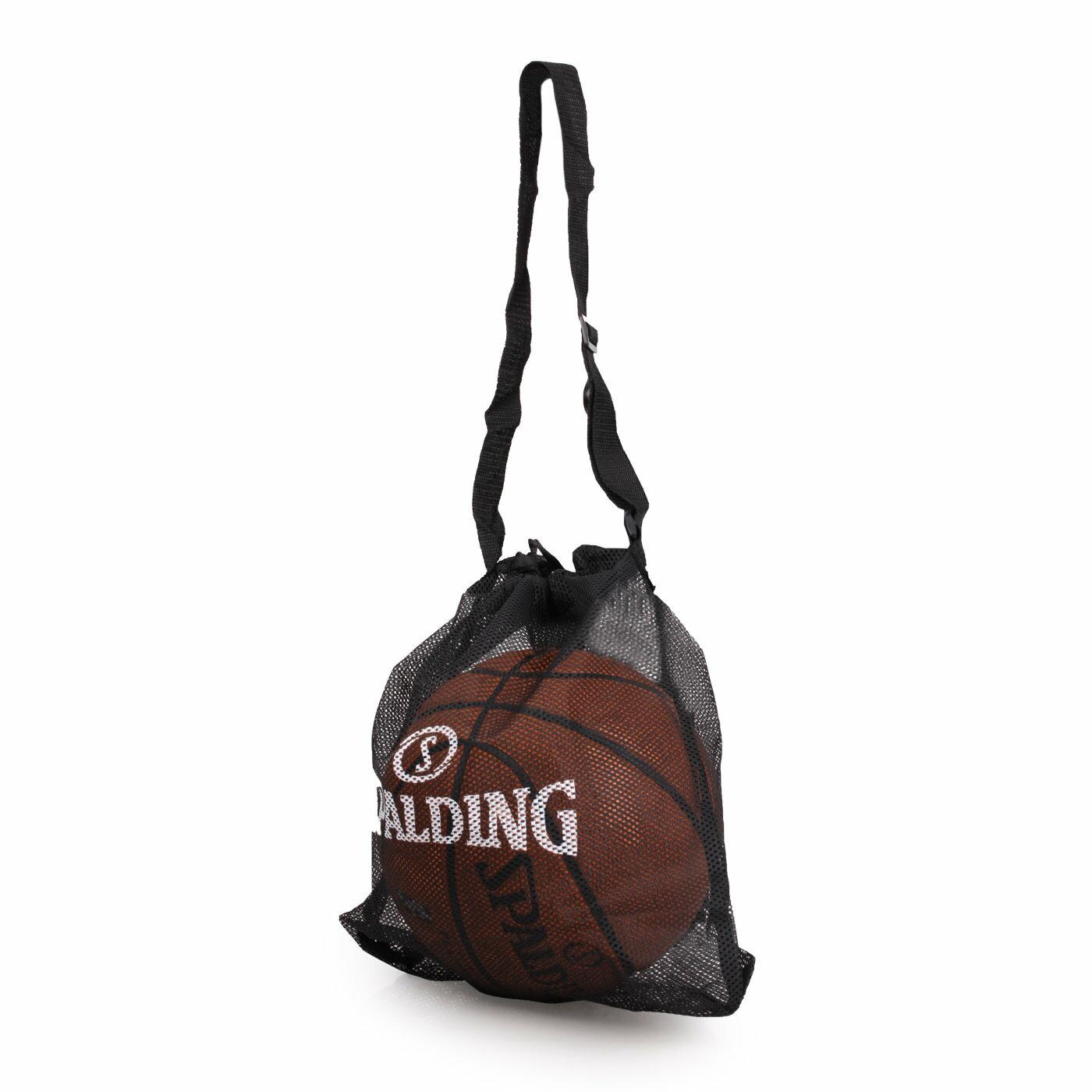 SPALDING 單顆裝側背網袋 (籃球袋 束口袋 單顆裝 斯伯丁【05481300】≡排汗專家≡