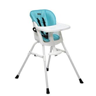ViVibaby 第二代兩段式高腳餐椅(天空藍)
