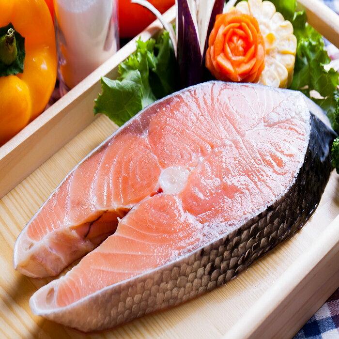 鮮嫩厚切鮭魚片