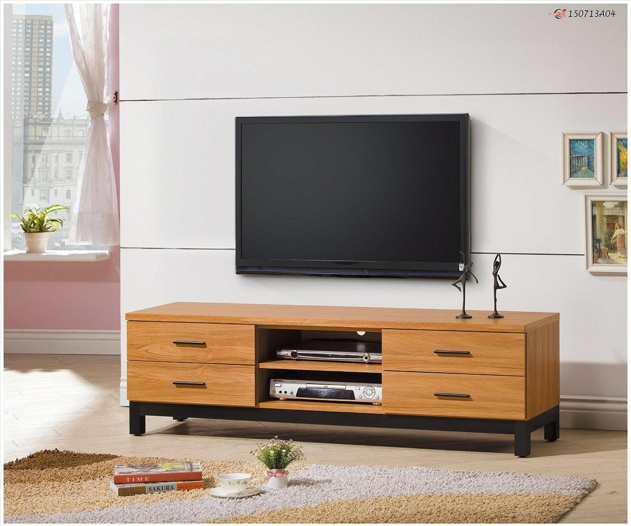 【石川家居】EF-236-3 泓昌優植5尺電視櫃 (不含其他商品) 需搭配車趟