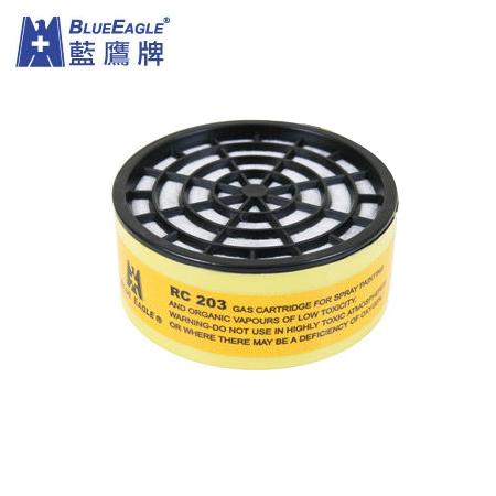 藍鷹牌RC-203一般有機濾毒罐,澳規,適用NP-305、NP-306、R-1000、R-2000防毒口罩,適合噴漆烤漆模型有機氣體…