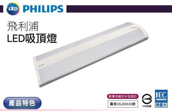 飛利浦LED燈板型吸頂燈-21W/2尺/自然光