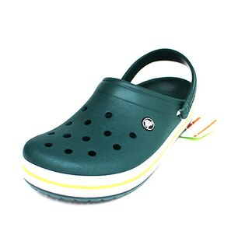 免運Crocs卡駱馳經典克駱班涼拖鞋洞洞鞋鱷魚鞋11016-3S0綠{陽光運動}
