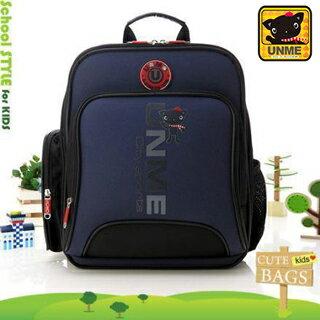 【UNME】台灣製專櫃書包/減壓書包/中高年級適用(藍色3077)【威奇包仔通】