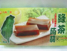 大熊健康~綠茶蒟蒻400公克/盒(8條入/盒)
