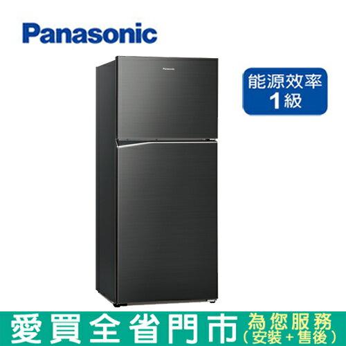 Panasonic國際422L雙門變頻冰箱NR-B420TV-A含配送到府+標準安裝 【愛買】