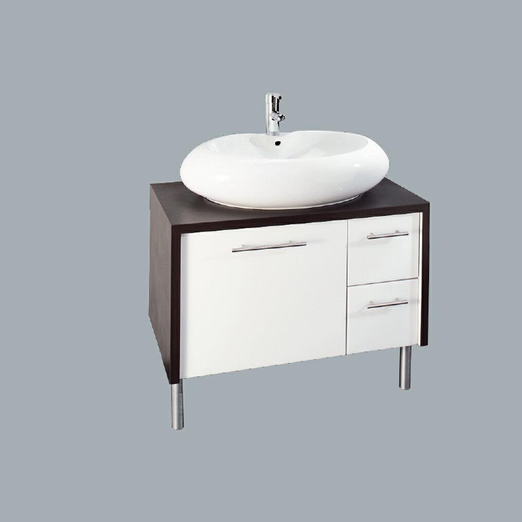 HCG臉盆浴櫃/不含水龍頭 /L6633SAdb+LCS6633B