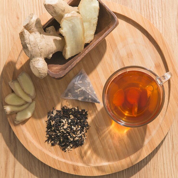 【米森】有機老薑高山紅茶(15包/盒)★風靡日本的超簡單自然暖身法