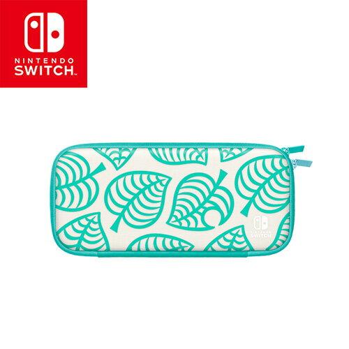 任天堂Switch 主機便攜包 集合啦!動物森友會版(附螢幕保護貼)【愛買】 0