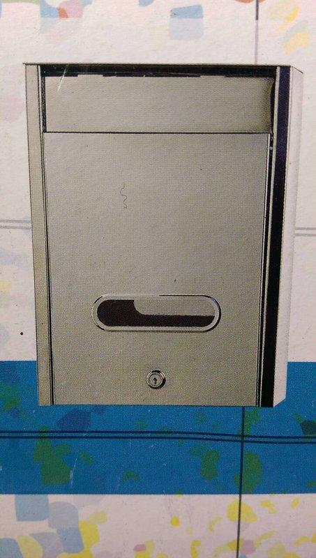 【八八八】e網購~【 台灣製造 不銹鋼信箱大 25X9X34公分】 意見箱 不鏽鋼信箱大