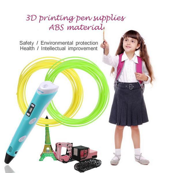 20pcs 1.75mm 10m Printing Filament ABS Modeling For 3D Printer Pen Drawing 2