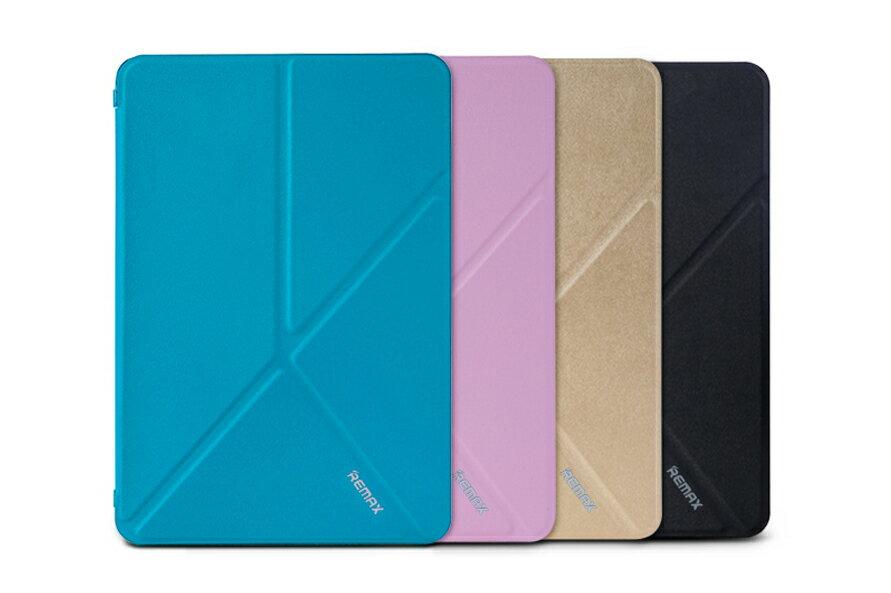 REMAX 變形皮套系列 Apple iPad Air2保護套 變形支撐 磨砂底殼平板保護殼/ 保護套/ 皮套