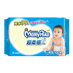 滿意寶寶 純水 超柔感 濕毛巾 一般型 100張/包