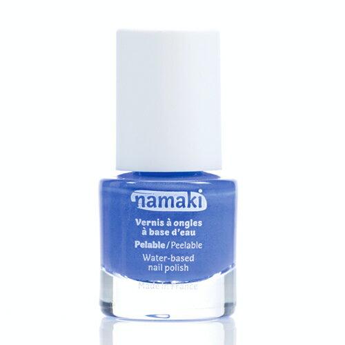法國 namaki  幼兒專用可撕式水性指甲油 - 海洋藍