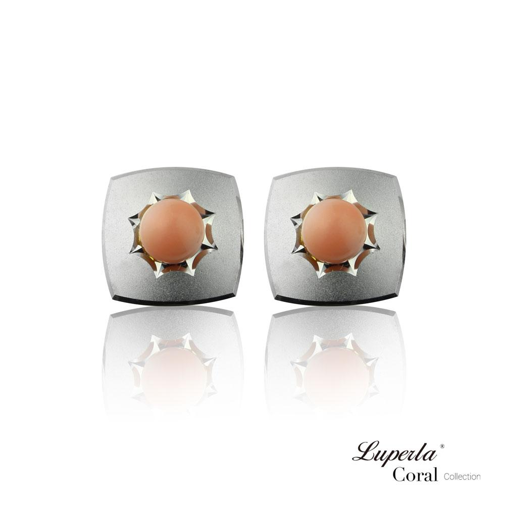 大東山珠寶 自我宣言 仕紳系列 天然粉珊瑚  西裝領徽 袖扣 4