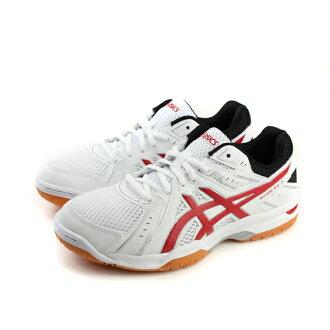亞瑟士ASICS RIVRE EX 7 羽排球鞋 運動鞋 白色 男鞋 no316
