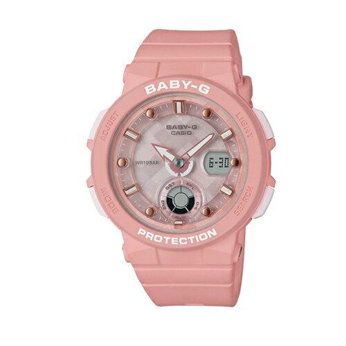 CASIOBABY-G潮流尖端雙顯運動腕錶BGA-250-4A