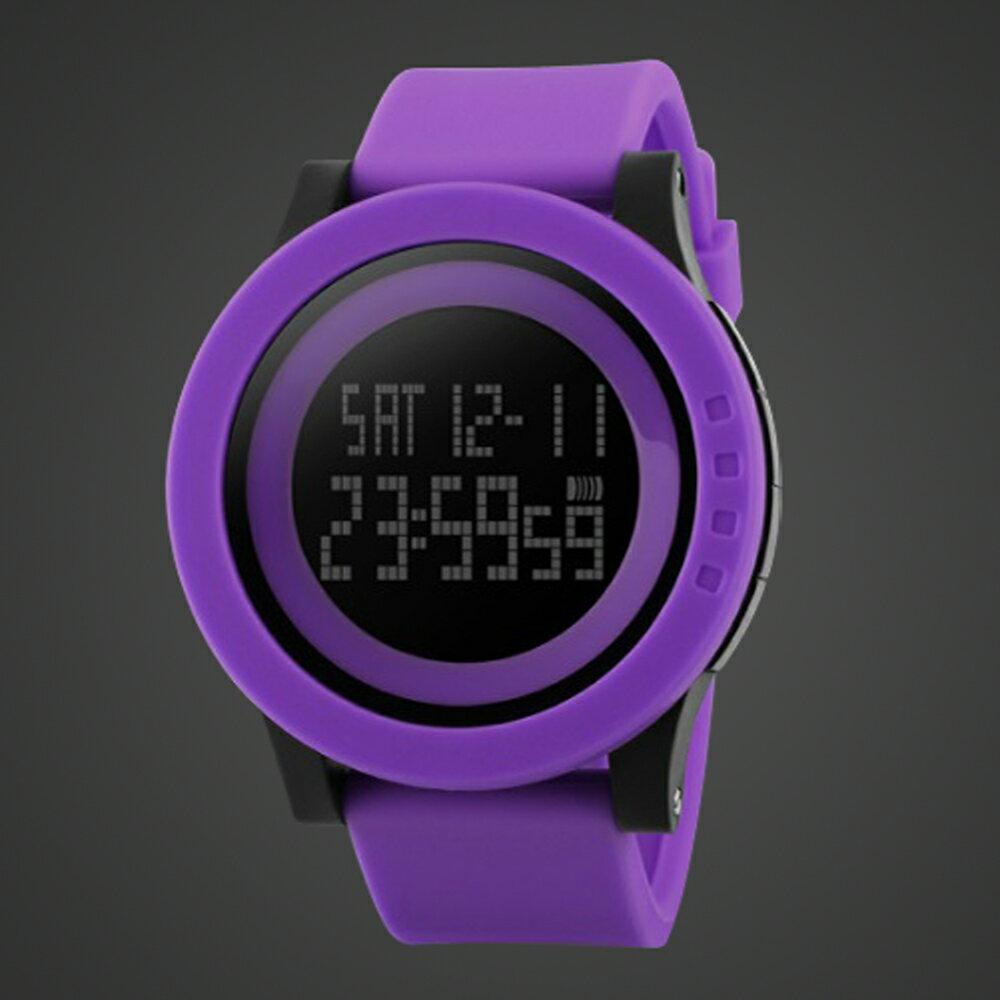 SKMEI時刻美 1142 酷炫螢光色大錶盤防水電子錶 3