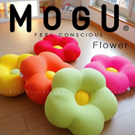 【日本MOGU】繽紛花朵 可愛抱枕/舒壓靠枕/造型坐墊‧日本製?桃子寶貝?
