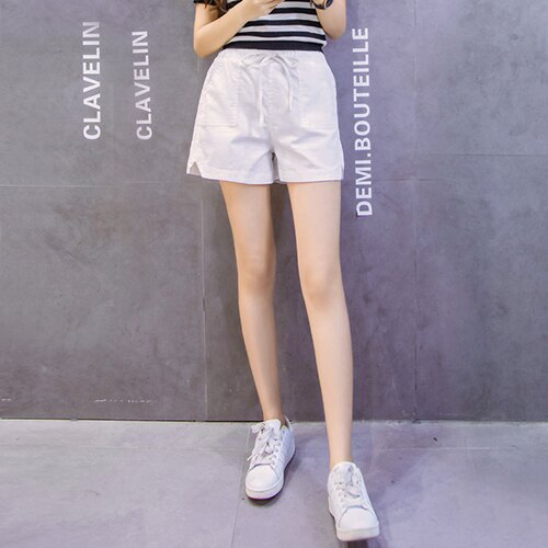 亞麻闊腿棉麻短褲(5色S~3XL)【OREAD】 4