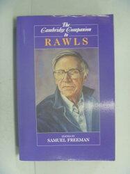 【書寶二手書T9/哲學_YBV】The Cambridge Companion to Rawls_Freeman