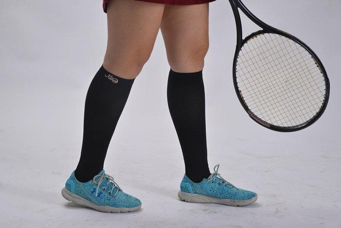 機能健康壓力襪(1雙、黑色)KB06 3