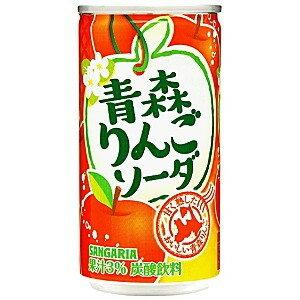 有樂町進口食品 sangaria青森蘋果蘇打飲料190ml J22 4902179018663