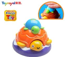 日本樂雅 Toyroyal洗澡玩具-小烏龜