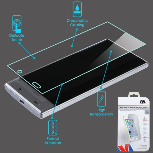 For Sharp Aquos Crystal 306 Shatterproof Tempered Glass Screen Protector Cover 15222be50ff2b1bad5ffd3acd0799146