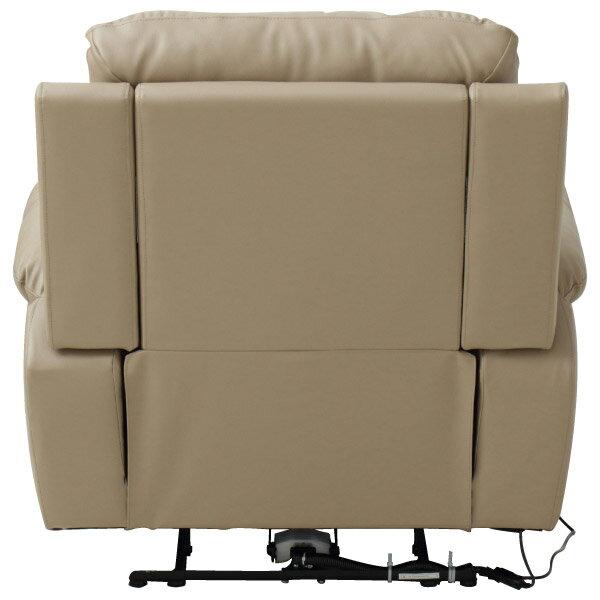 ◎半皮1人用電動可躺式沙發 N-BEAZEL MO NITORI宜得利家居 4
