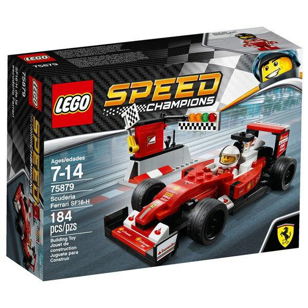 樂高積木 LEGO《 LT75879 》SPEED CHAMPIONS 系列 - Scuderia Ferrari SF16-H