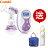【贈標準玻璃奶瓶240ml+點點手提袋】日本【Combi】自然吸韻電動吸乳器 0