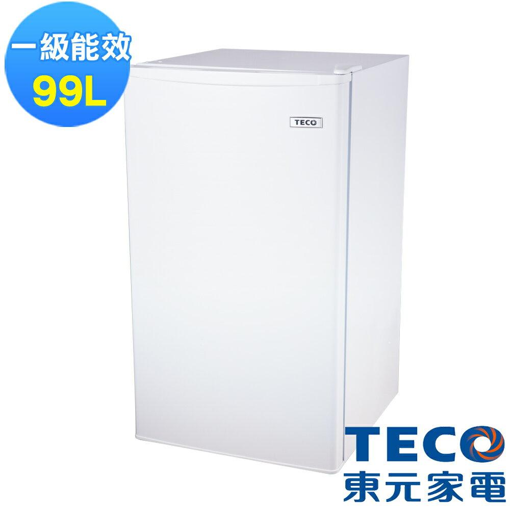 【TECO 東元】99公升單門小鮮綠冰箱 R1091W