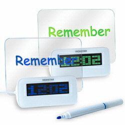 【迪特軍3C】aibo USB LED 時鐘留言板 辦公小物 交換禮物 聖誕禮物 (USB-42)