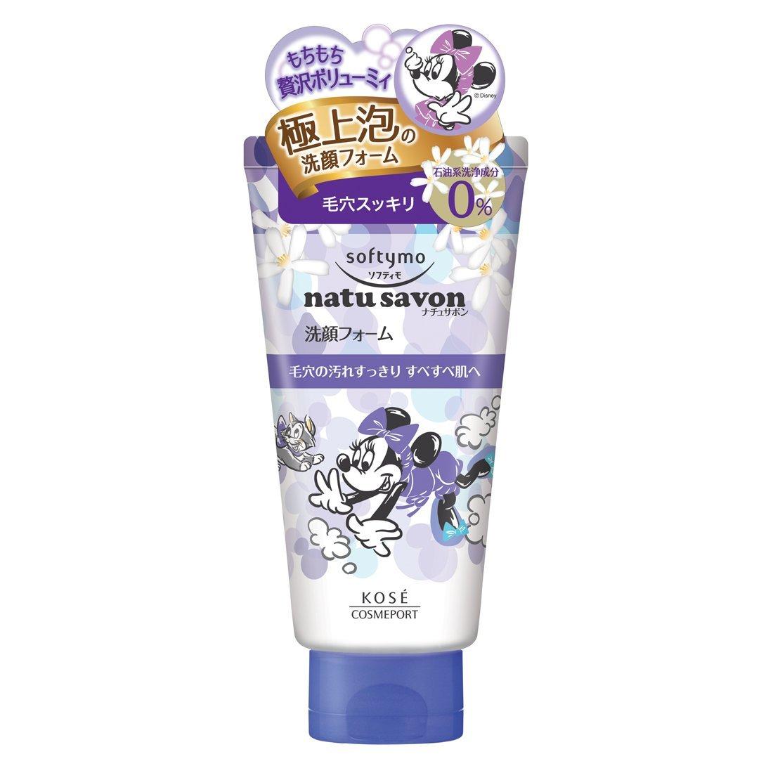 KOSE 迪士尼SOFTYMO深層清潔泡沫洗面乳(深層清潔)