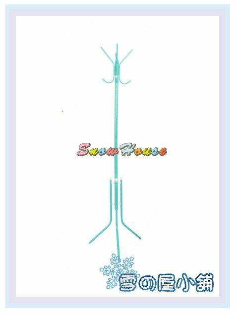 ╭☆雪之屋居家生活館☆╯AA1013-06 衣架(136)藍色/吊衣架/衣帽架/掛衣架/DIY自組