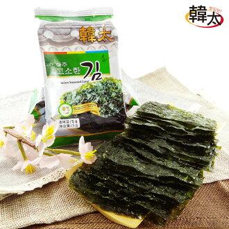 【韓太】韓國味付鹽燒海苔12盒