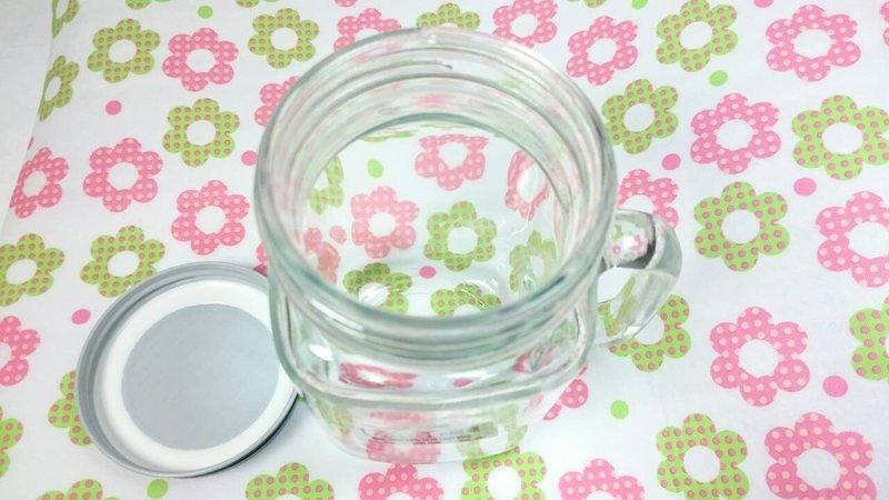 【八八八】e網購~【 螺牙把手杯480cc】個性玻璃杯 隨身杯 檸檬杯 情侶水杯 冷水壺 隨行杯 牛奶瓶 2